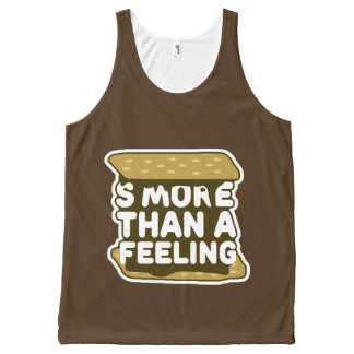 S'more Than a Feeling B All-Over Print Tank Top