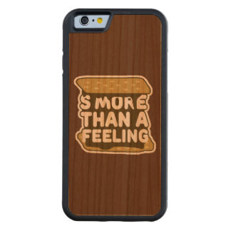S'more Than a Feeling Carved Cherry iPhone 6 Bumper Case
