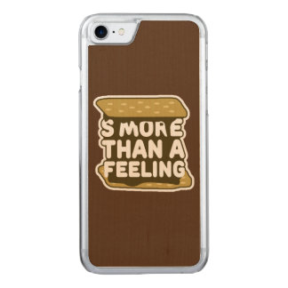 S'more Than a Feeling Carved iPhone 8/7 Case