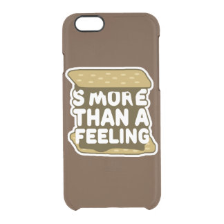 S'more Than a Feeling Clear iPhone 6/6S Case