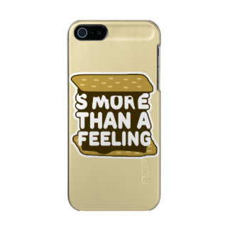S'more Than a Feeling Metallic Phone Case For iPhone SE/5/5s