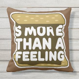 Smore Than a Feeling Throw Pillow