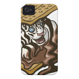 Smore Tiger iPhone 4 Cover