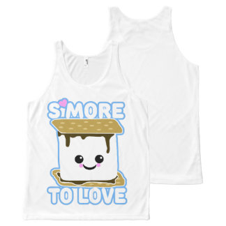 S'more to Love All-Over Print Tank Top