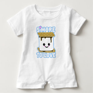 S'more to Love Baby Romper