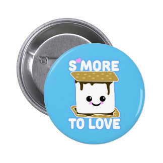 S'more to Love Pinback Button