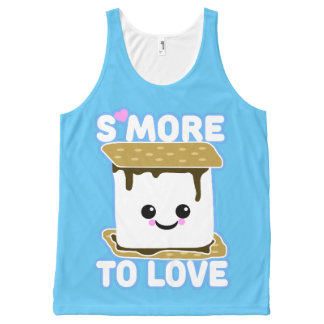 S'more to Love SB All-Over Print Tank Top