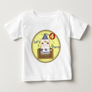Smores 4th Birthday Gifts Baby T-Shirt