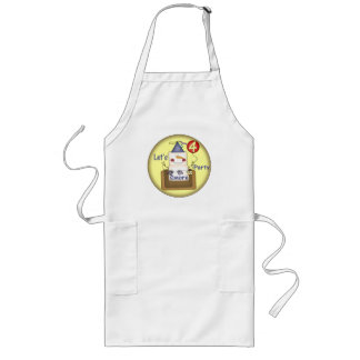 Smores 4th Birthday Gifts Long Apron