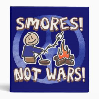 S'mores Not Wars! Binders