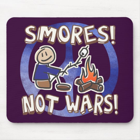 S'mores Not Wars Mouse Pad