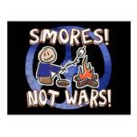 S'mores Not Wars Postcard