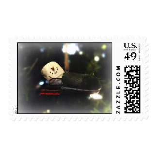 S'mores Snowman Postage