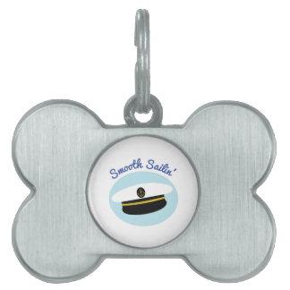 Smoth Sailin Pet ID Tags