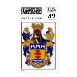 SMOTJLANewArmsInsularStyle Postage Stamp