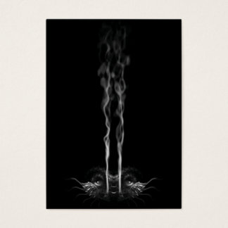SMOULDER Noir Dragon Smoke Custom Business Card