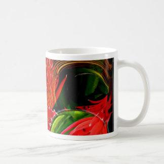 Smouldering Beauty Classic White Coffee Mug
