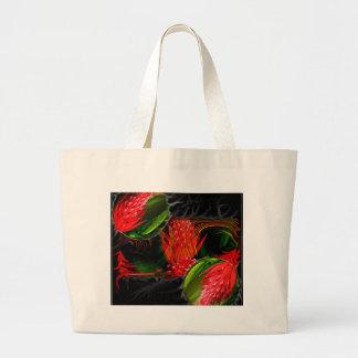 Smouldering Beauty Large Tote Bag