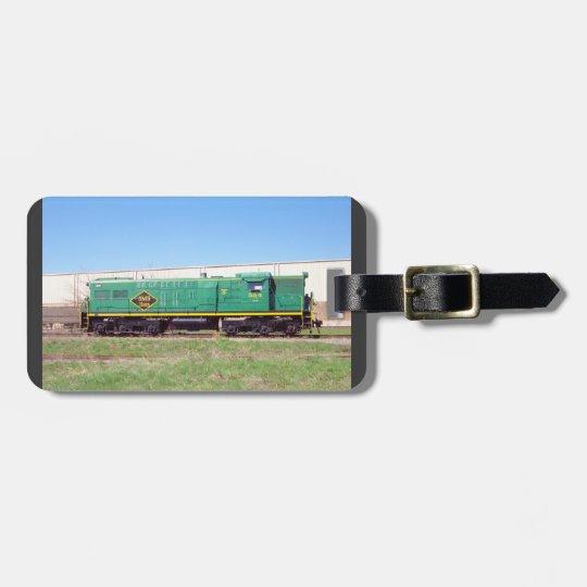 SMS Railroad Lines Baldwin AS616 #554 Bag Tag