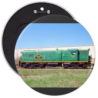 SMS Railroad Lines Baldwin AS616 #554 Button