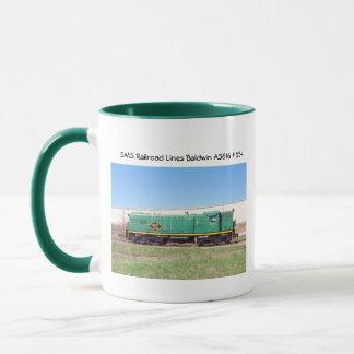 SMS Railroad Lines Baldwin AS616 #554 Mug