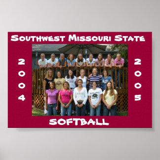 SMS Softball Poster