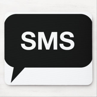 SMS Text Mouse Pad