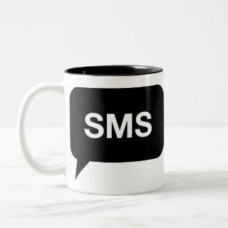 SMS Text Two-Tone Coffee Mug
