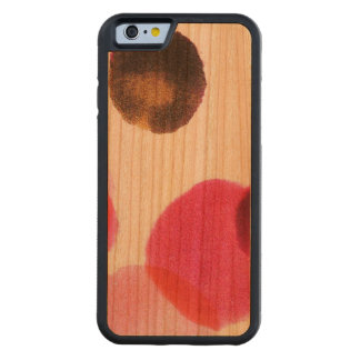 Smudge Carved Cherry iPhone 6 Bumper Case