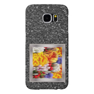 smudge flowers (I) Samsung Galaxy S6 Cases