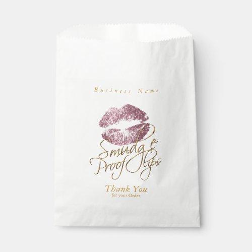 Smudge Proof Lips - Pink Rose Favor Bag