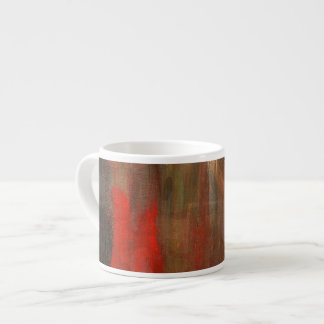 Smudged Canvas 6 Oz Ceramic Espresso Cup