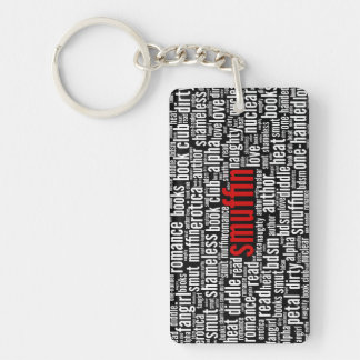 Smuffin Shameless Word Cloud All-Over Print (D) Keychain