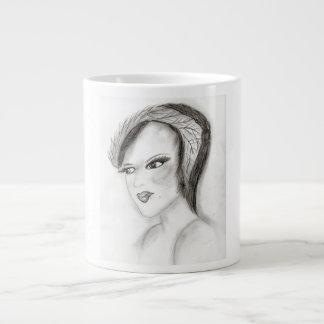 SMUG 30s Girl Giant Coffee Mug