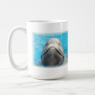 Smug Beluga Whale Travel Mug