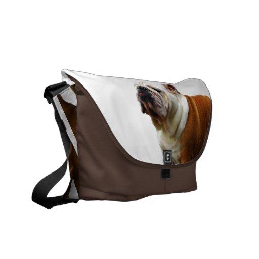 Smug Bulldog Messenger Bag
