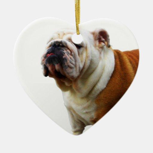 Smug Bulldog Ornaments