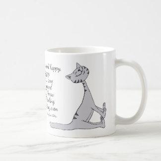 Smug Cat Quote Mug 11 oz Classic White Mug