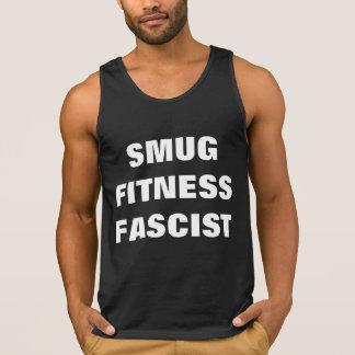 Smug Fitness Fascist Tanktops