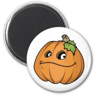 Smug Halloween Pumpkin Fridge Magnets