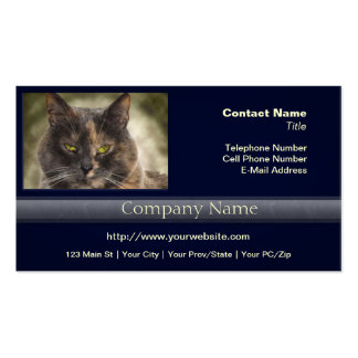 Smug Kitty - Do What You Want? Business Card
