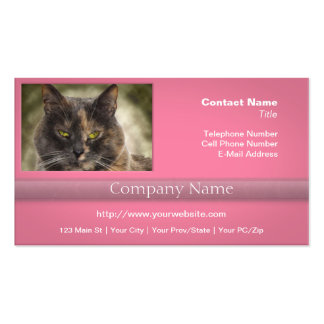 Smug Kitty - Do What You Want Business Card Templates