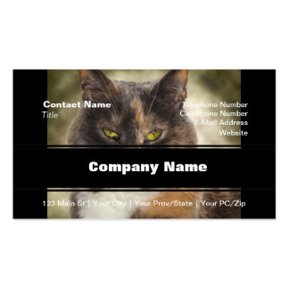 Smug Kitty - Do What You Want Business Card Template
