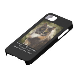 Smug Kitty - Do What You Want? iPhone 5 Cases