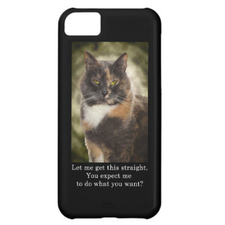Smug Kitty - Do What You Want? iPhone 5C Cover