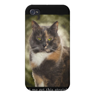 Smug Kitty - Do What You Want? Case For iPhone 4
