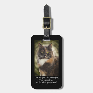 Smug Kitty - Do What You Want? Luggage Tags