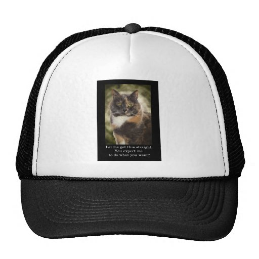 Smug Kitty - Do What You Want? Trucker Hat