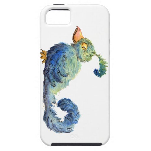 Smug Little Blue Bird iPhone 5 Case