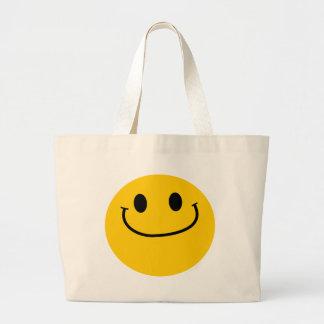 Smug smiley bag